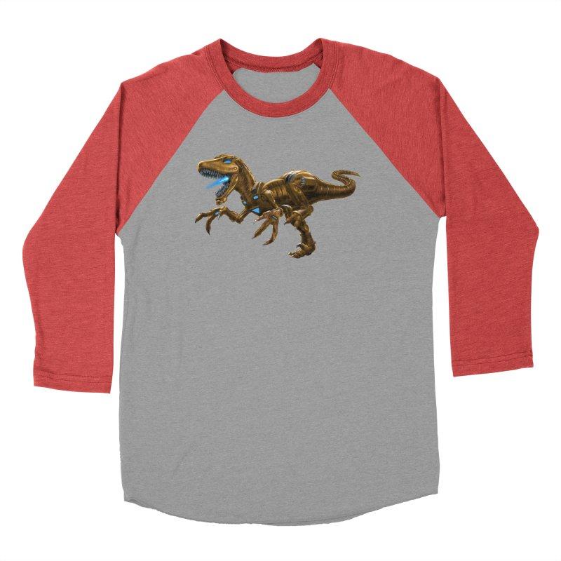 Rusty Robot Raptor Men's Longsleeve T-Shirt by Ayota Illustration Shop
