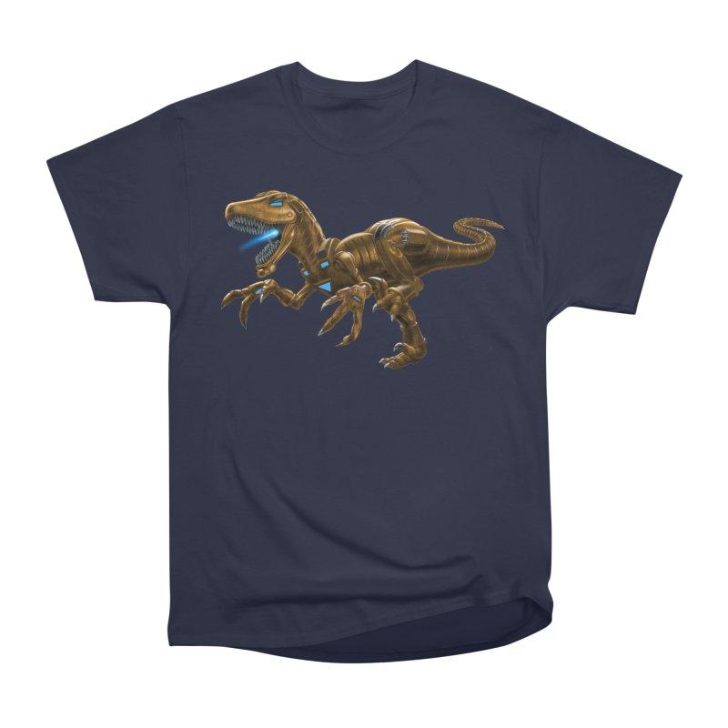 Rusty Robot Raptor Men's Classic T-Shirt by Ayota Illustration Shop