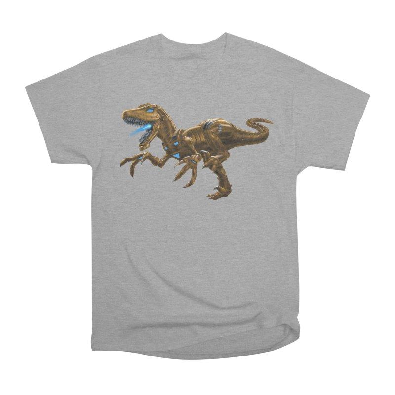 Rusty Robot Raptor Men's T-Shirt by Ayota Illustration Shop