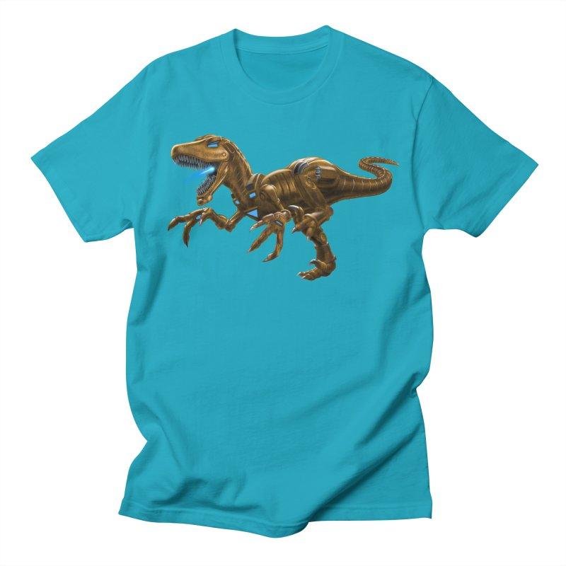 Rusty Robot Raptor Women's Regular Unisex T-Shirt by Ayota Illustration Shop