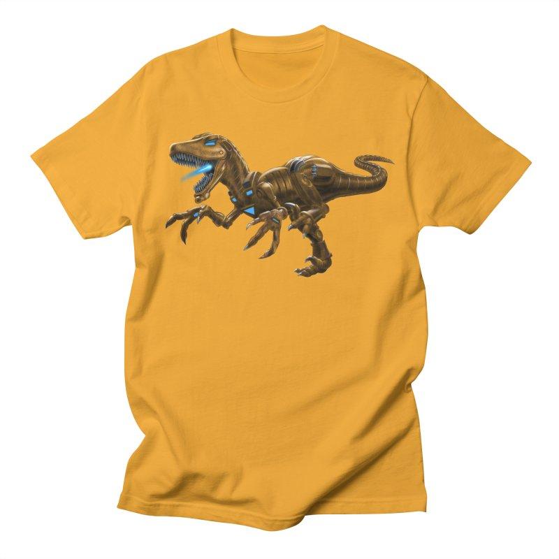 Rusty Robot Raptor Women's Unisex T-Shirt by Ayota Illustration Shop