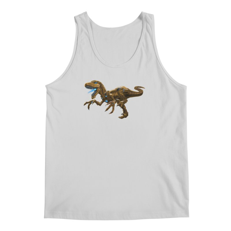Rusty Robot Raptor Men's Regular Tank by Ayota Illustration Shop