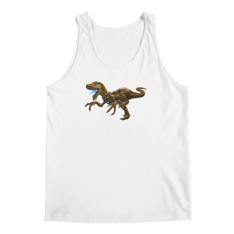 Rusty Robot Raptor Men's Tank by Ayota Illustration Shop