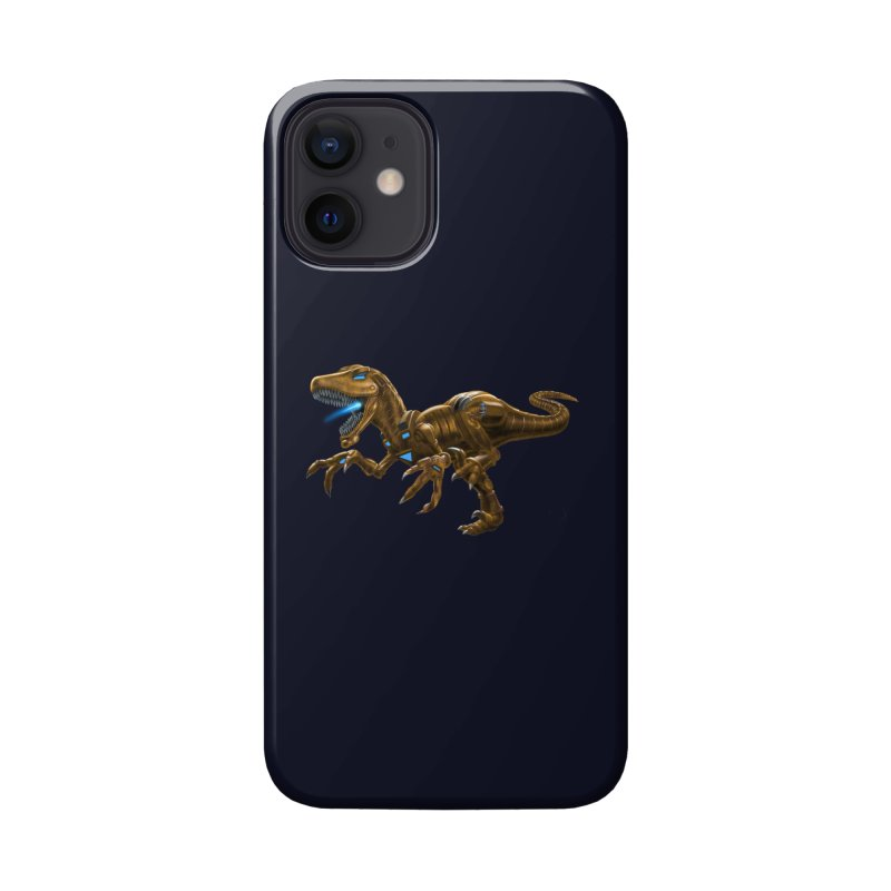 Rusty Robot Raptor Accessories Phone Case by Ayota Illustration Shop