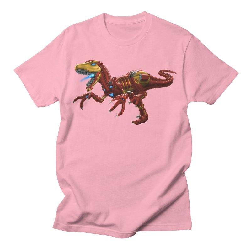 Iron Raptor Men's T-Shirt by Ayota Illustration Shop