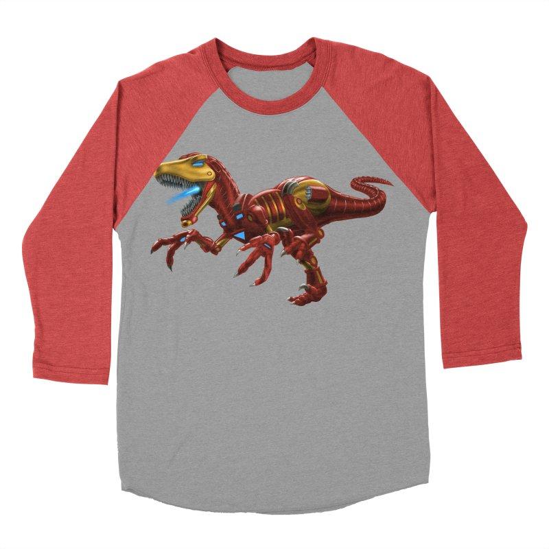 Iron Raptor Men's Longsleeve T-Shirt by Ayota Illustration Shop