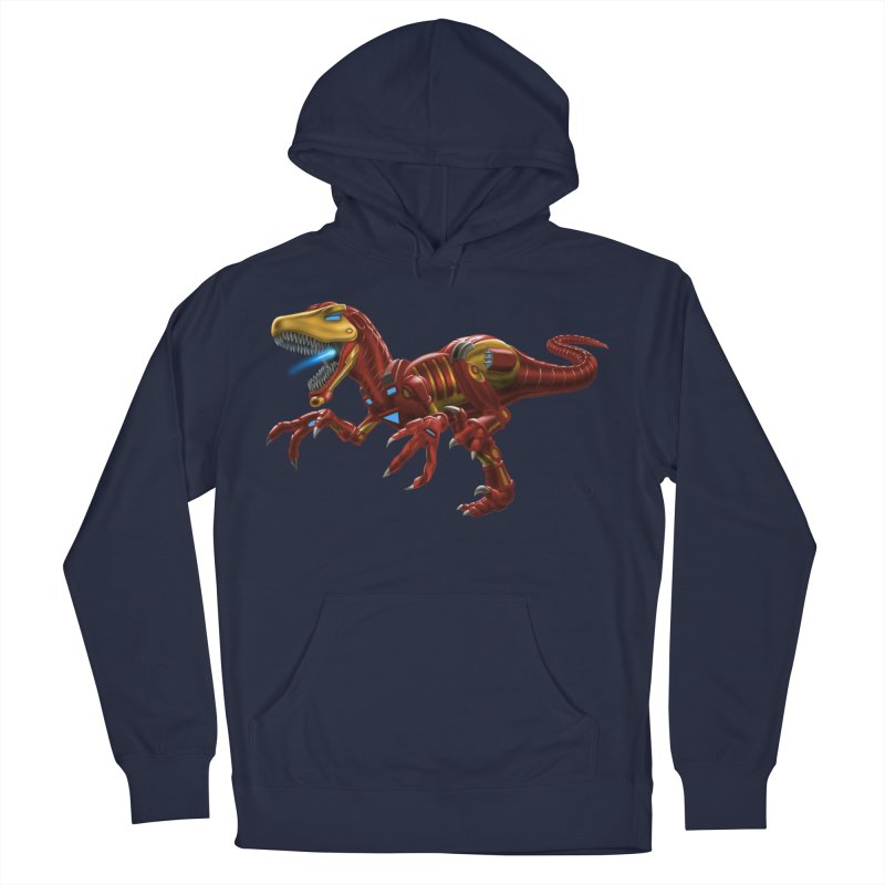 Iron Raptor Women's French Terry Pullover Hoody by Ayota Illustration Shop