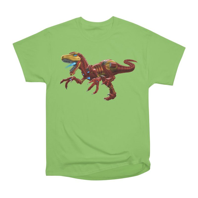 Iron Raptor Women's Heavyweight Unisex T-Shirt by Ayota Illustration Shop