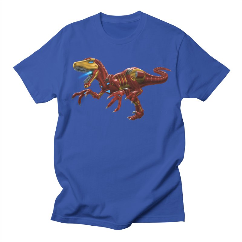 Iron Raptor Men's Regular T-Shirt by Ayota Illustration Shop