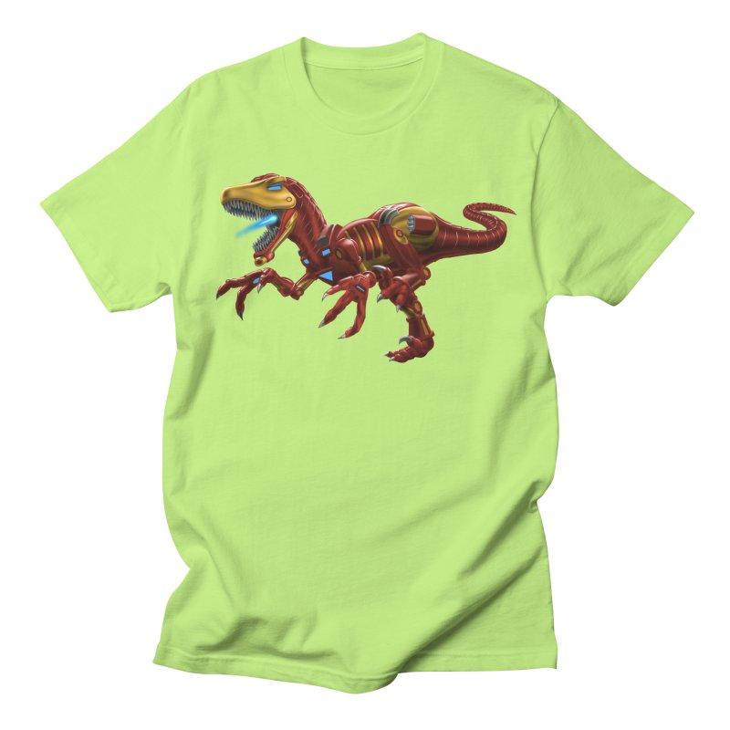 Iron Raptor Women's Unisex T-Shirt by Ayota Illustration Shop