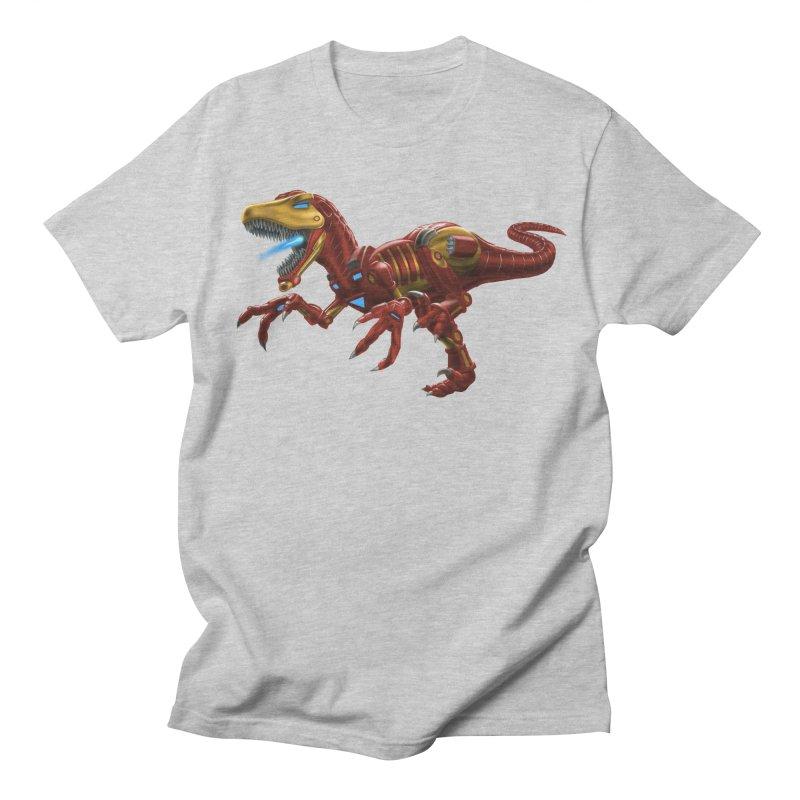 Iron Raptor Women's Regular Unisex T-Shirt by Ayota Illustration Shop