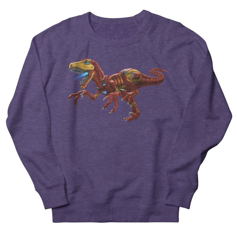 Iron Raptor Women's Sweatshirt by Ayota Illustration Shop