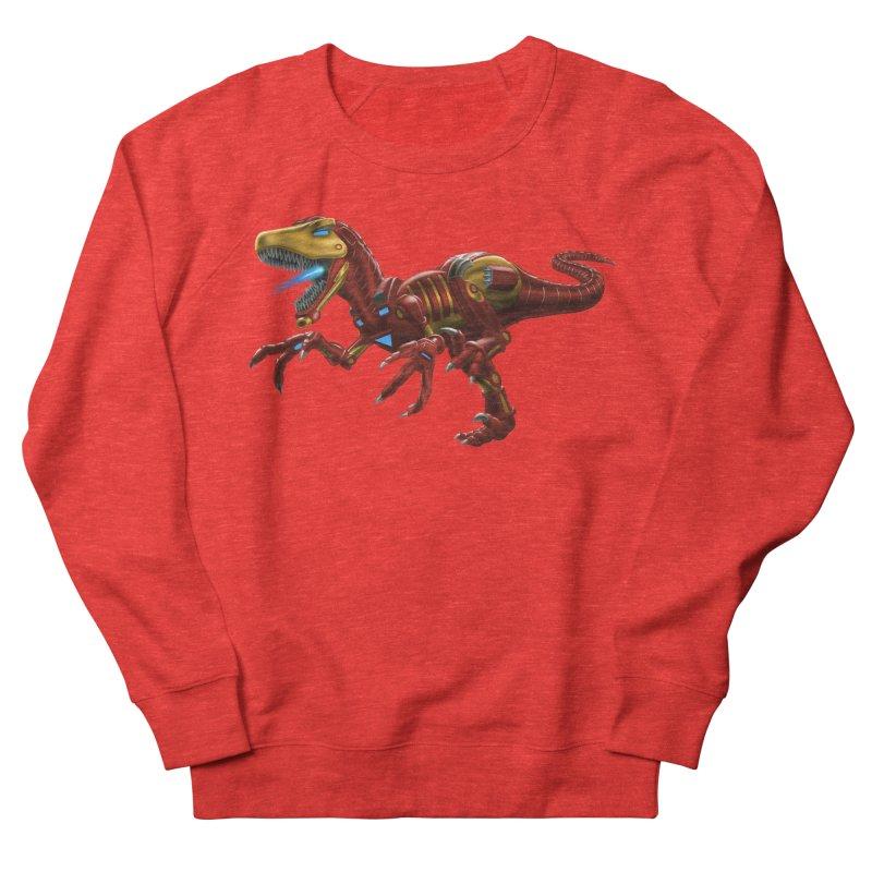 Iron Raptor Women's Sweatshirt by Ayota Illustration Shop
