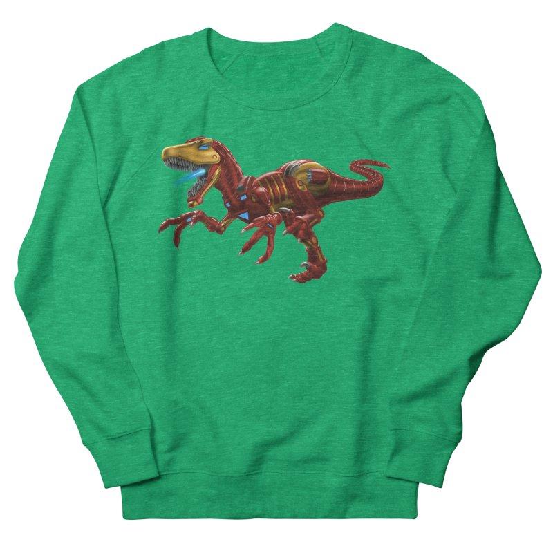 Iron Raptor Men's French Terry Sweatshirt by Ayota Illustration Shop