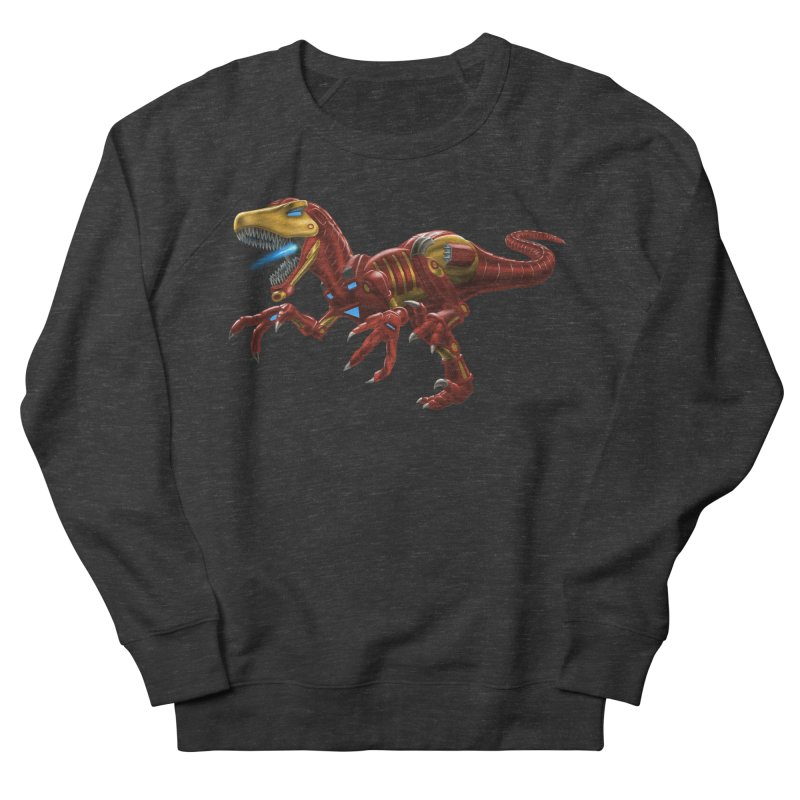 Iron Raptor Men's French Terry Sweatshirt by Ayota Illustration Shop