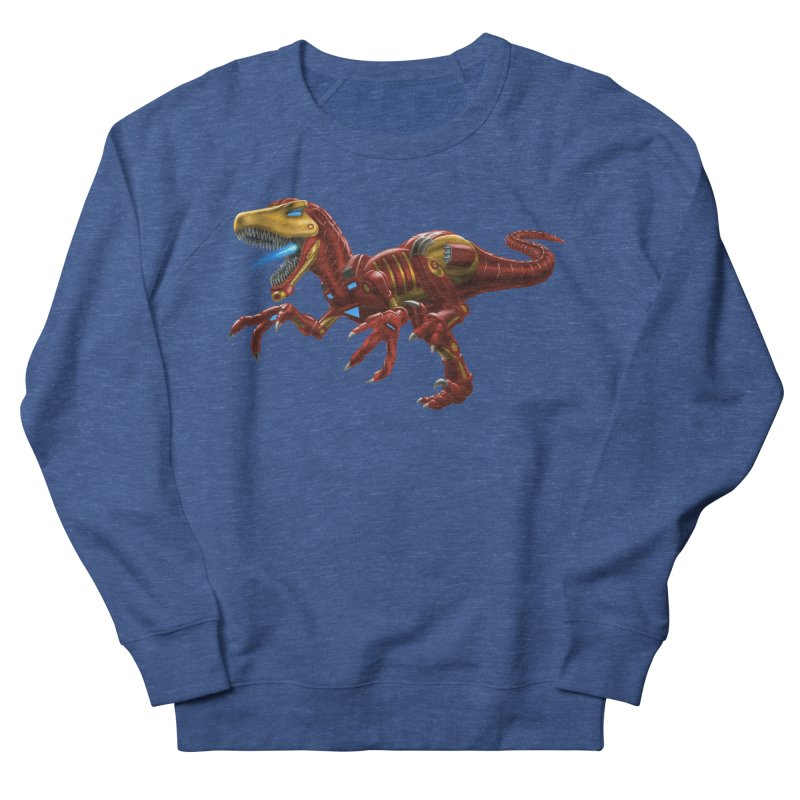 Iron Raptor Men's Sweatshirt by Ayota Illustration Shop