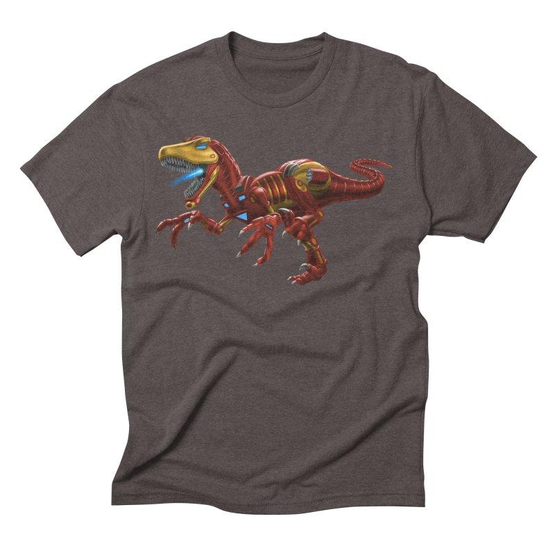 Iron Raptor Men's Triblend T-Shirt by Ayota Illustration Shop