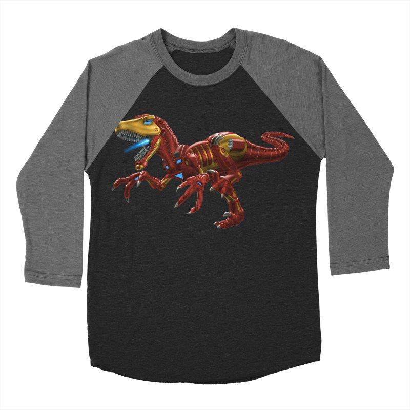 Iron Raptor Women's Baseball Triblend Longsleeve T-Shirt by Ayota Illustration Shop