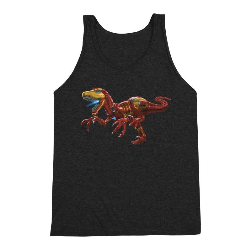 Iron Raptor Men's Tank by Ayota Illustration Shop