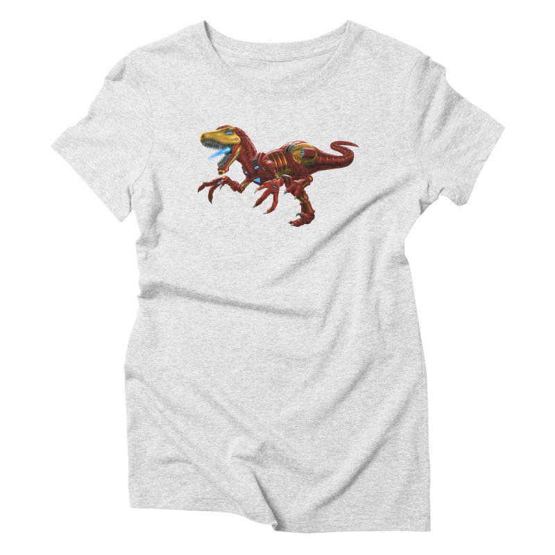 Iron Raptor Women's T-Shirt by Ayota Illustration Shop