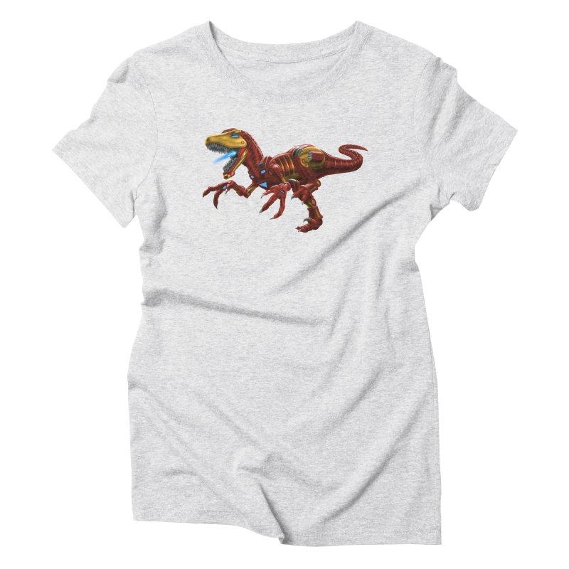 Iron Raptor Women's Triblend T-Shirt by Ayota Illustration Shop
