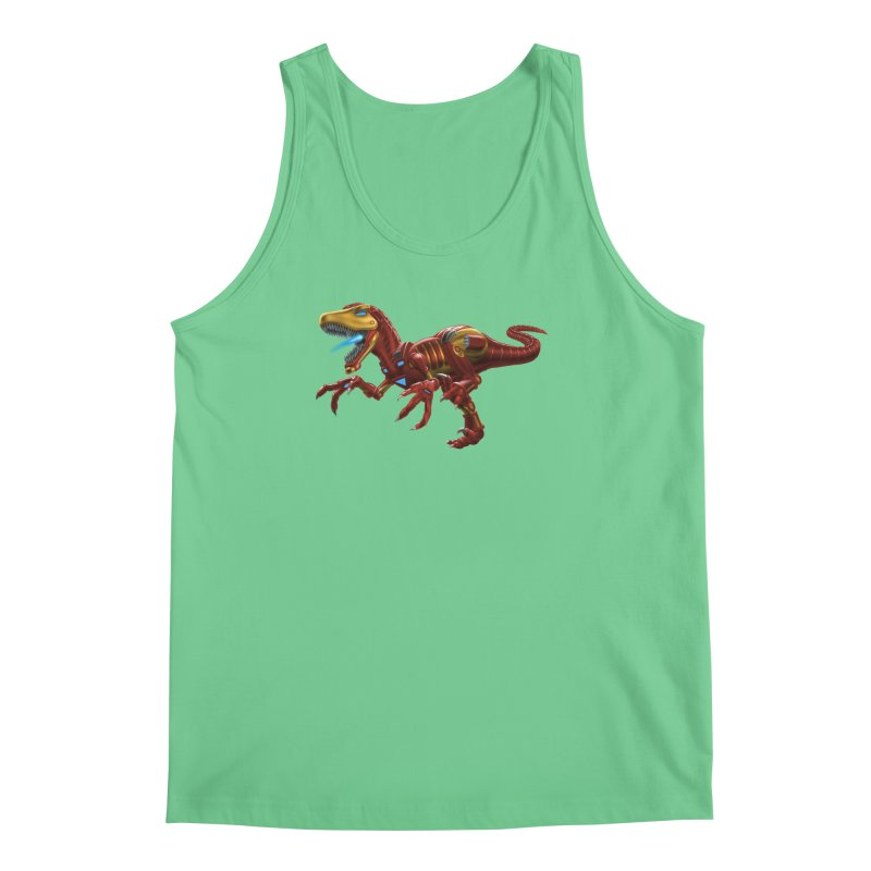 Iron Raptor Men's Regular Tank by Ayota Illustration Shop