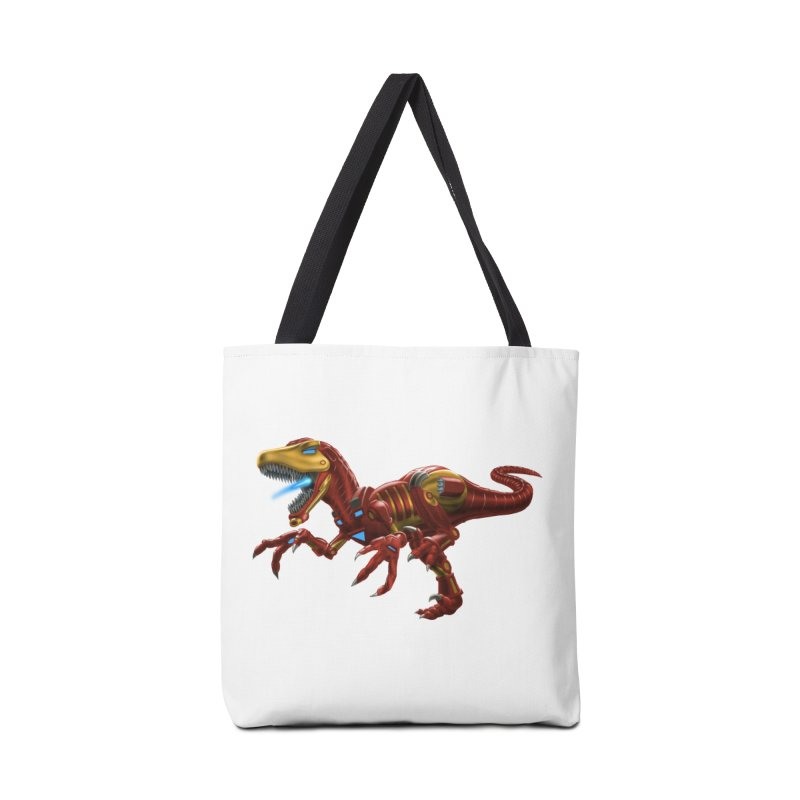 Iron Raptor Accessories Tote Bag Bag by Ayota Illustration Shop