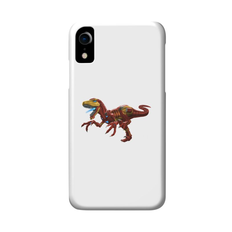 Iron Raptor Accessories Phone Case by Ayota Illustration Shop