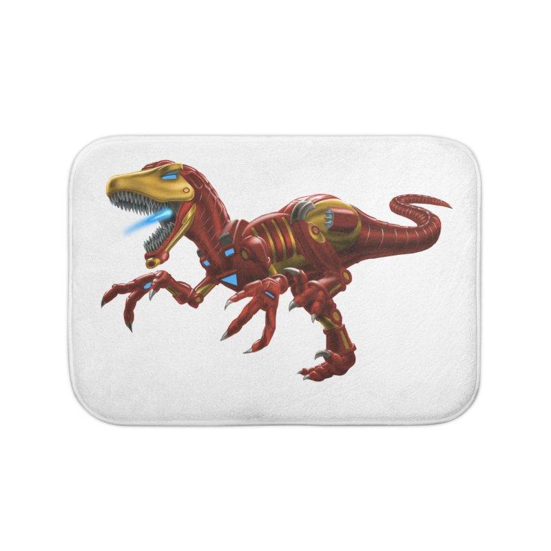 Iron Raptor Home Bath Mat by Ayota Illustration Shop