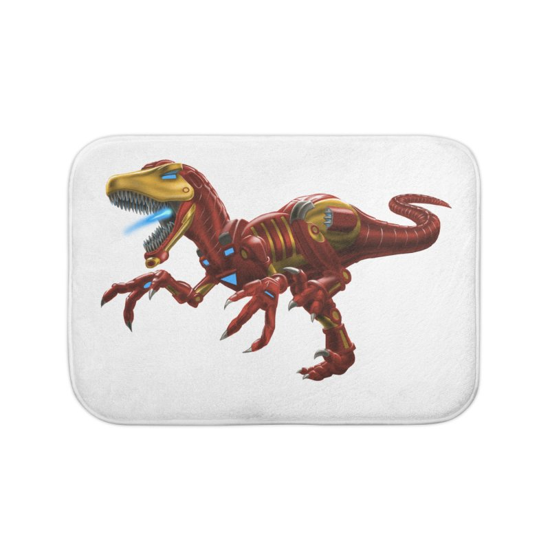 Iron Raptor Home Bath Mat by Ayota Illustration Shop