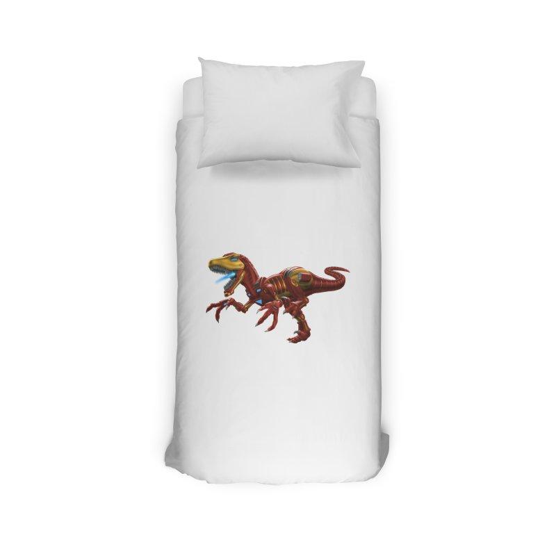 Iron Raptor Home Duvet by Ayota Illustration Shop