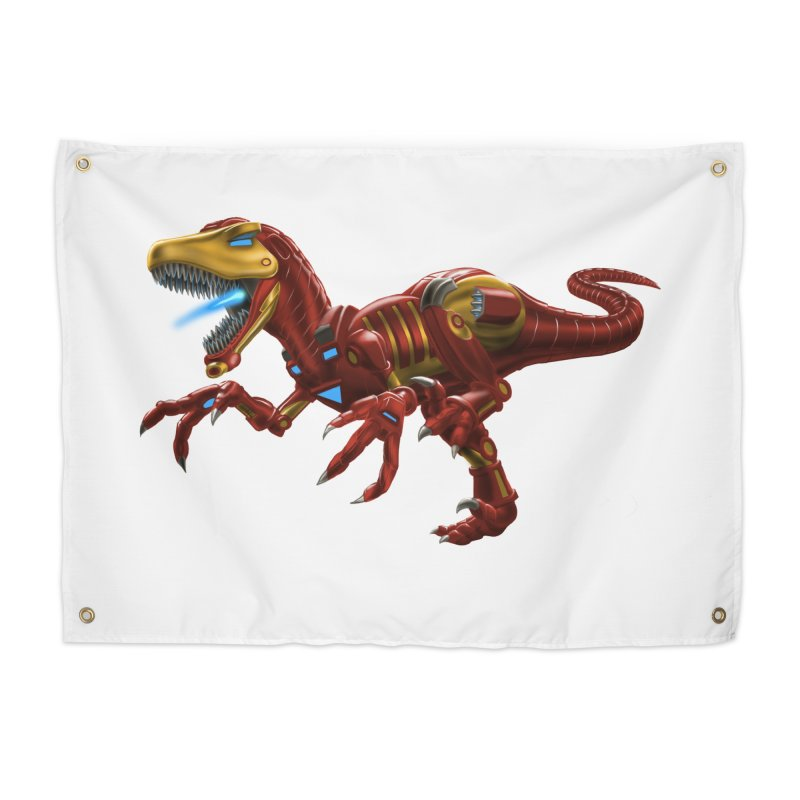 Iron Raptor Home Tapestry by Ayota Illustration Shop
