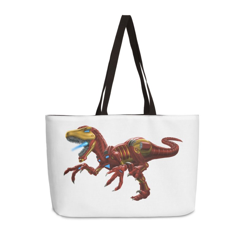 Iron Raptor Accessories Weekender Bag Bag by Ayota Illustration Shop