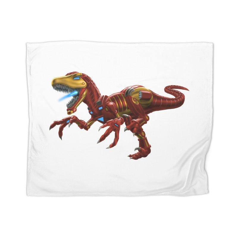 Iron Raptor Home Blanket by Ayota Illustration Shop