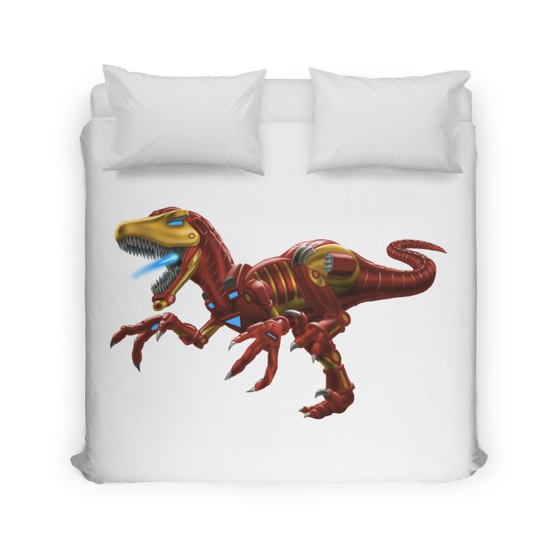 Iron Raptor Home Duvet by Ayota Illustration Shop