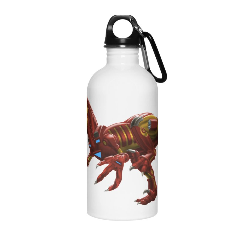 Iron Raptor Accessories Water Bottle by Ayota Illustration Shop