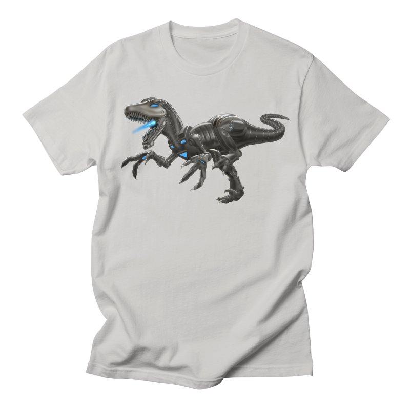 Metal Raptor Men's T-Shirt by Ayota Illustration Shop