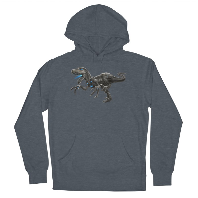 Metal Raptor Men's French Terry Pullover Hoody by Ayota Illustration Shop