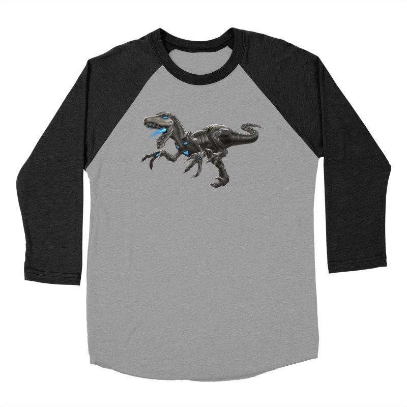 Metal Raptor Women's Longsleeve T-Shirt by Ayota Illustration Shop