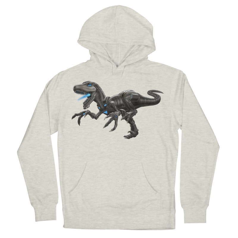 Metal Raptor Women's French Terry Pullover Hoody by Ayota Illustration Shop