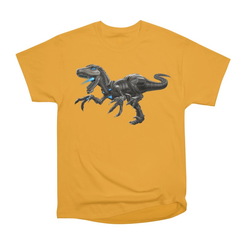 Metal Raptor Women's Heavyweight Unisex T-Shirt by Ayota Illustration Shop