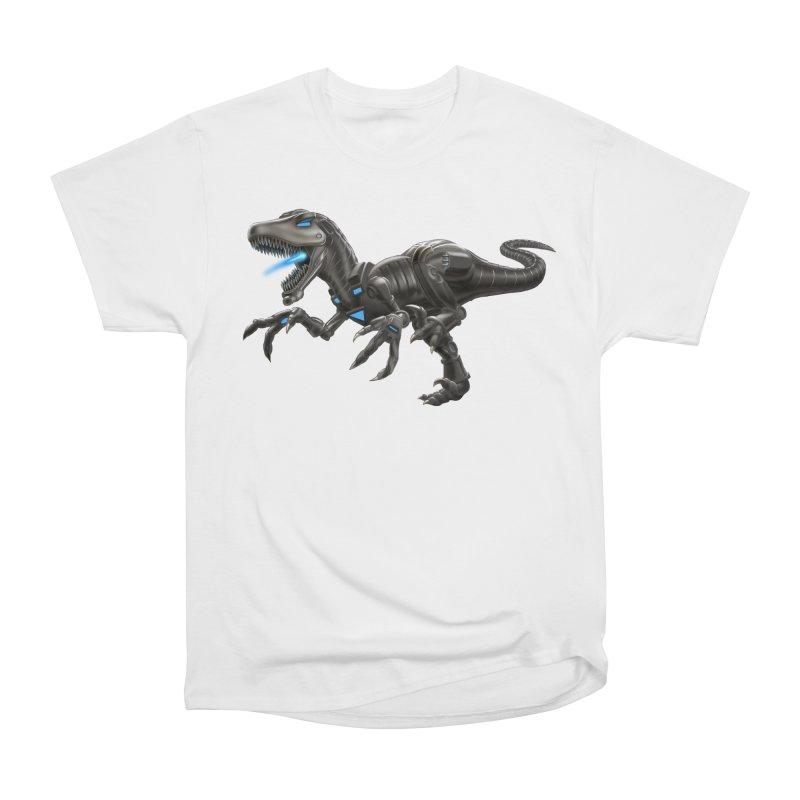 Metal Raptor Women's Heavyweight Unisex T-Shirt by Ayota Illustration Shop