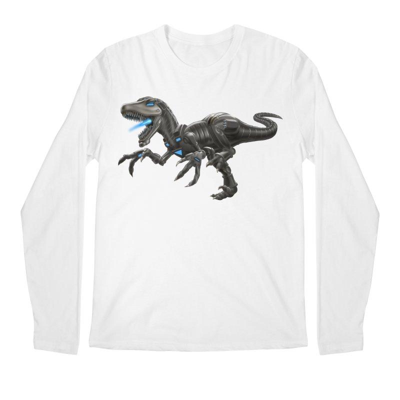 Metal Raptor Men's Regular Longsleeve T-Shirt by Ayota Illustration Shop