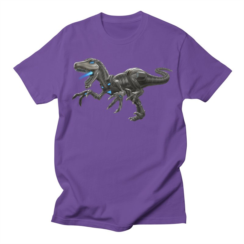 Metal Raptor Men's Regular T-Shirt by Ayota Illustration Shop