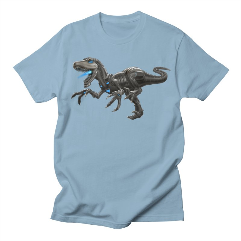 Metal Raptor Men's Regular T-Shirt by Ayota Illustration Shop