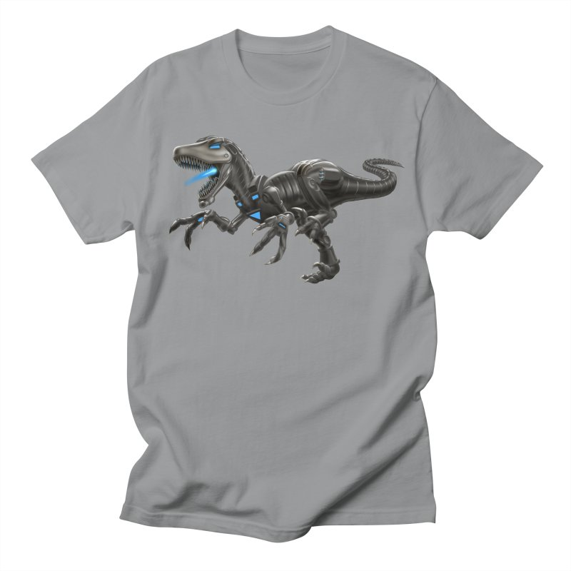 Metal Raptor Women's Regular Unisex T-Shirt by Ayota Illustration Shop