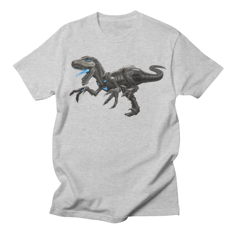 Metal Raptor Women's Regular Unisex T-Shirt by Ayota Illustration Shop