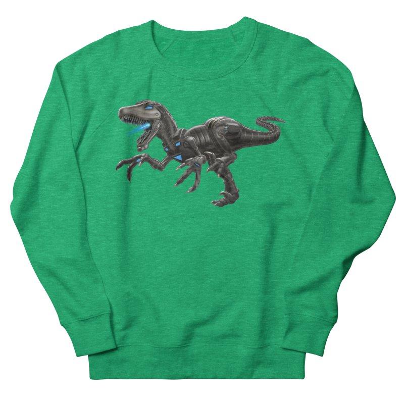 Metal Raptor Women's French Terry Sweatshirt by Ayota Illustration Shop