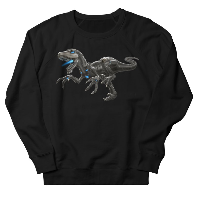 Metal Raptor Women's French Terry Sweatshirt by Ayota Illustration Shop