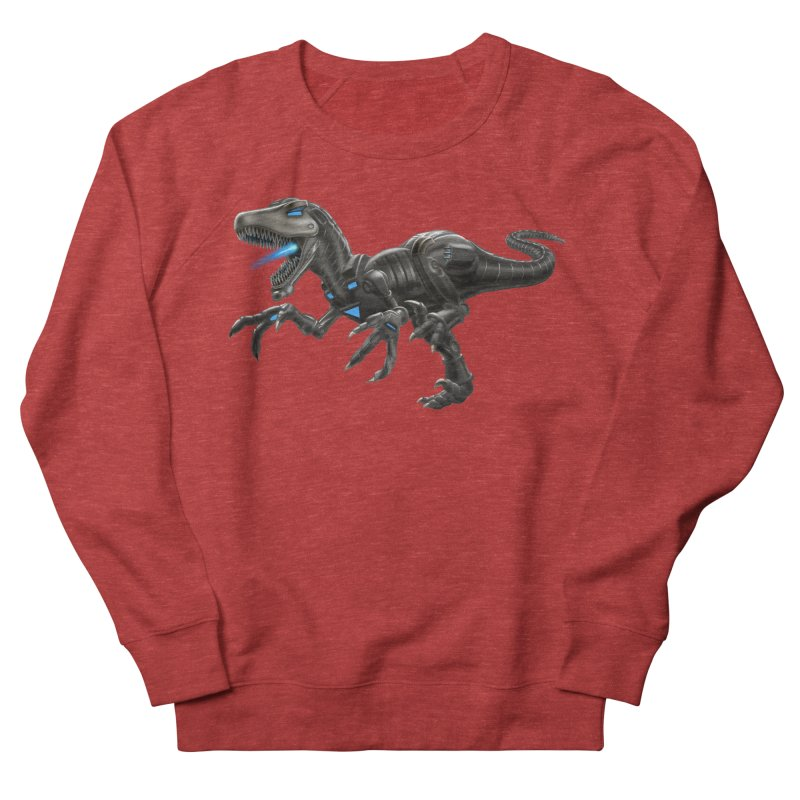 Metal Raptor Men's Sweatshirt by Ayota Illustration Shop